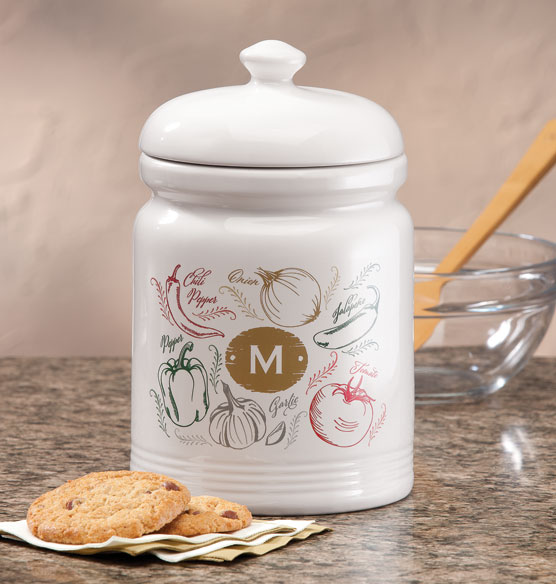 Personalized Farmers Market Salsa Cookie jar - View 1