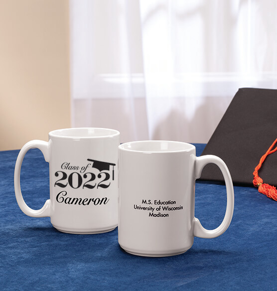 Personalized Any Year Graduation Mug