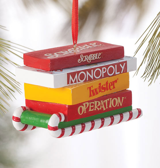 Board Game Christmas Ornament