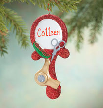 Personalized Beauty Guru Ornament