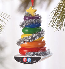 Staff Picks - Dept. 56® Fisher-Price Rock-a-Stack Ornament