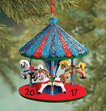 Personalized Carousel Ornament