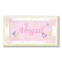 Personalized Wall Décor - Personalized Garden Name Plaque