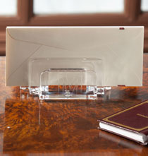 Personalized Clearylic Desk Sorter