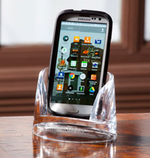 Desktop & Office - Personalized Clearylic Mobile Phone Holder