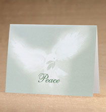 Holiday Cards - Peaceful Offering Holiday Cards - Set of 18
