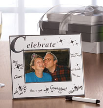 Graduation - Celebrate Signature Frame with Pen