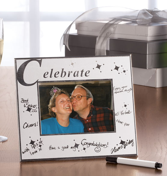 Celebrate Signature Frame with Pen