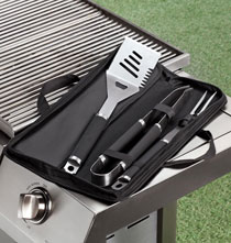 Gifts for Him - BBQ Set with Soft Side Case