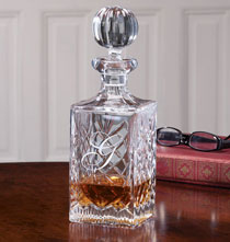 Gifts for the Wine Lover - Personalized European Crystal Decanter