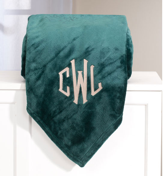 Personalized Oversized Plush Blanket by OakRidge Comforts™