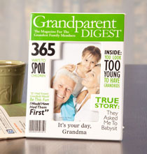 Gifts for Grandparents - Personalized Really Great News Grandparents Frame