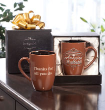 Entertaining for Him - Personalized Insignia Mug for Him
