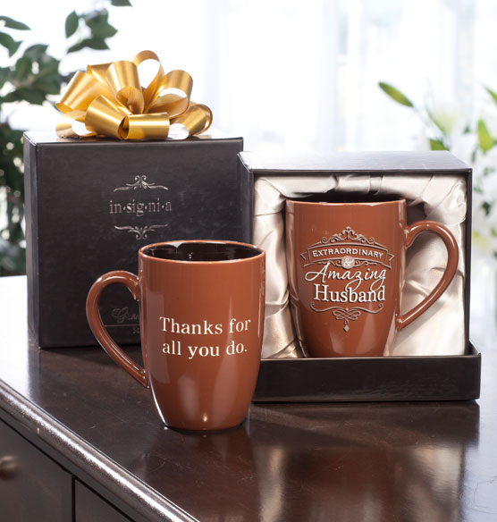 Personalized Insignia Mug for Him