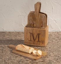 Personalized Cutting Board Gift Set