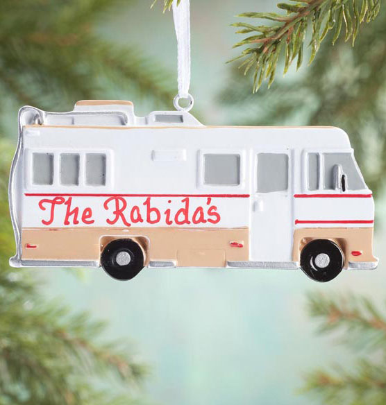 Personalized RV Ornament