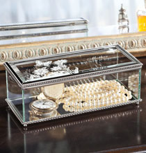Personalized Tabletop - Personalized Glass Memory Box