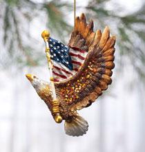 Patriotic Eagle Ornament