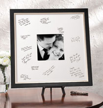 Wedding Gifts - Taylor Conservation Signature Frame with Brushed Nickel