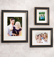 Gallery Frames - Tuscan Conservation Frame Black with Gold