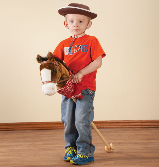 Personalized Hobby Horse with Sound