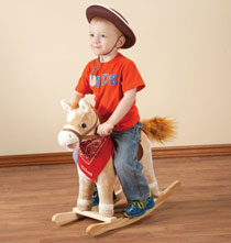 Personalized Unique Gifts - Personalized Animated Rocking Horse with Sound