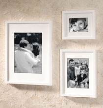 Gallery Frames - Tribeca Contemporary Conservation Frame White