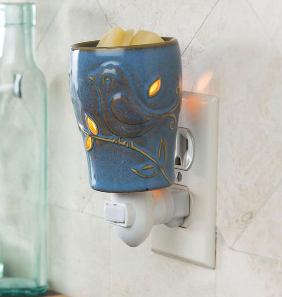 Bluebird Pluggable Fragrance Warmer - View 1