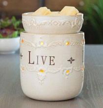 Live, Laugh, Love Illumination™ Fragrance Warmer