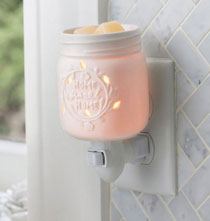 Miscellaneous Home Decor - Mason Jar Pluggable Fragrance Warmer