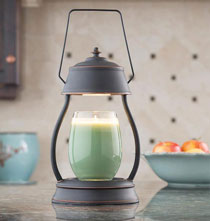 Candle Warmers & Scents - Oil Rubbed Bronze Hurricane™ Candle Warmer Lantern