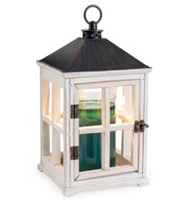 Wooden Candle Warmer Lantern