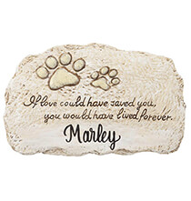 Pets - Personalized Forever Pet Memorial Stone