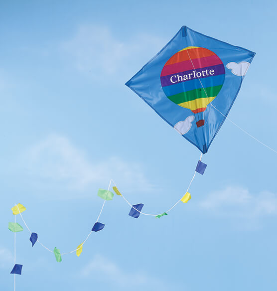 Personalized Hot Air Balloon Kite