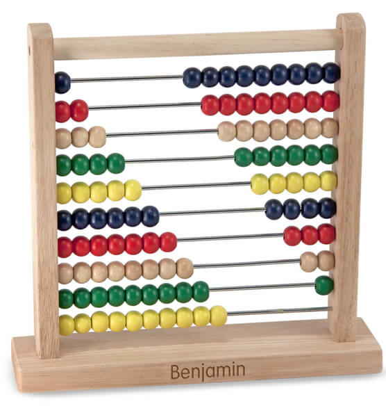 Melissa & Doug® Personalized Abacus - View 1