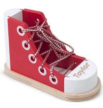 Melissa & Doug® Personalized Lacing Shoe