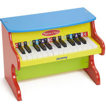 Toys - Melissa & Doug® Personalized Upright Piano