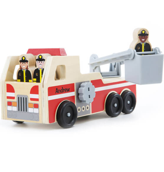 Melissa & Doug® Personalized Fire Truck - View 1