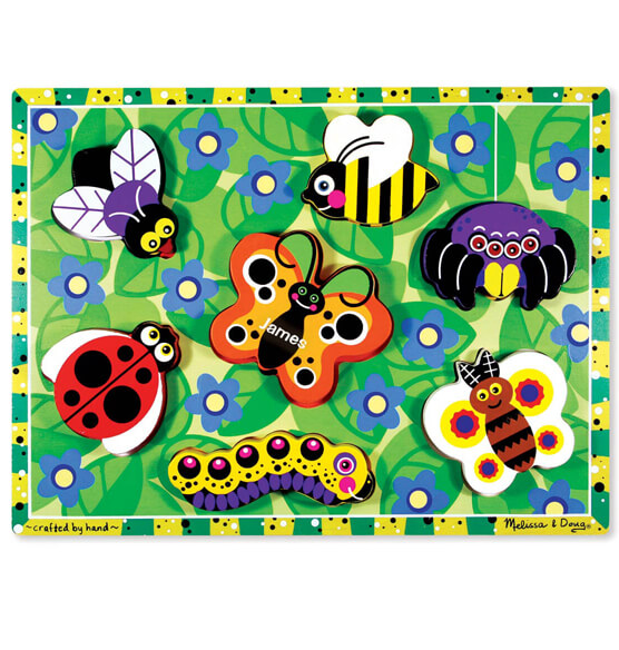 Melissa & Doug® Personalized Insects Chunky Puzzle - View 1