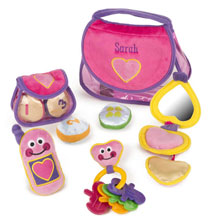 Toys - Melissa & Doug® Personalized Pretty Purse Fill and Spill