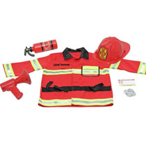 Gifts by Melissa and Doug - Melissa & Doug® Personalized Fire Chief Costume Set