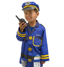Gifts by Melissa and Doug - Melissa & Doug® Personalized Police Officer Costume Set