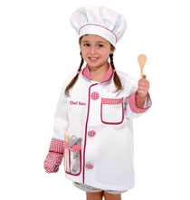 Gifts by Melissa and Doug - Melissa & Doug® Personalized Chef Costume Set