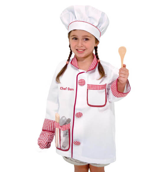 Melissa & Doug® Personalized Chef Costume Set