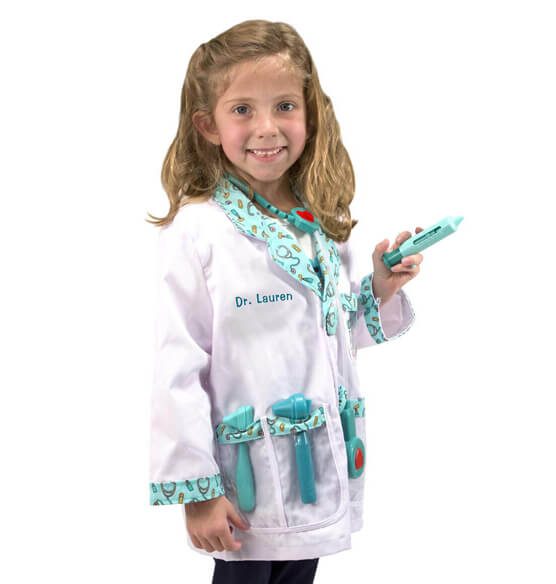 Melissa & Doug® Personalized Doctor Costume Set - View 1