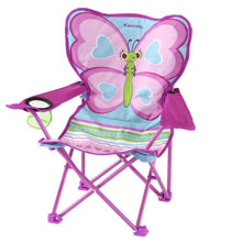 Gifts by Melissa and Doug - Melissa & Doug® Personalized Cutie Pie Butterfly Camp Chair