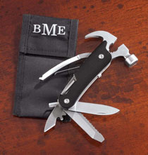 Gifts for Him - Multi Tool Hammer with Personalized Case