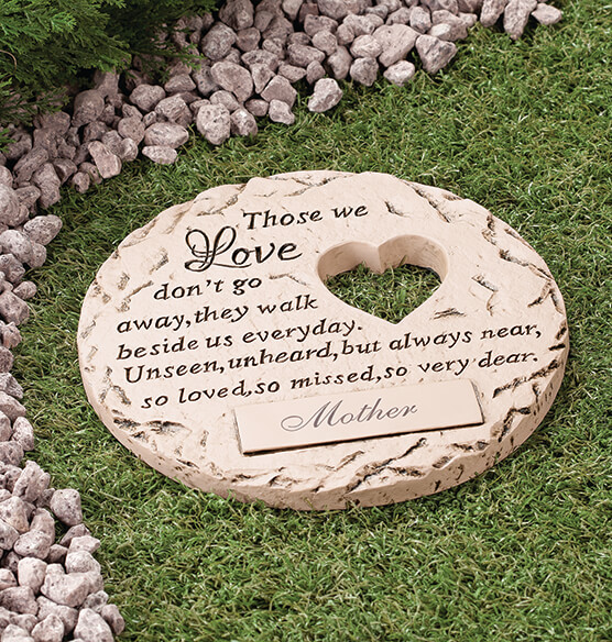 Personalized Those We Love Memorial Stone