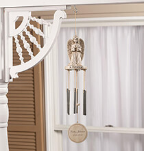 Gifts for Veteran's Day - Personalized Memorial Wind Chime by Fox River™ Creations