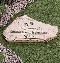 Pets - Personalized Faithful Friend and Companion Memorial Stone